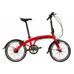 BICICLETA PLEGABLE 20'' CITY RED