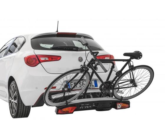 Skoda Rapid spaceback año a partir de 2013 portabicicletas portón trasero 2 bicicletas heckträg