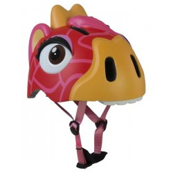 Casco Crazy Safety Red Giraffe infantil