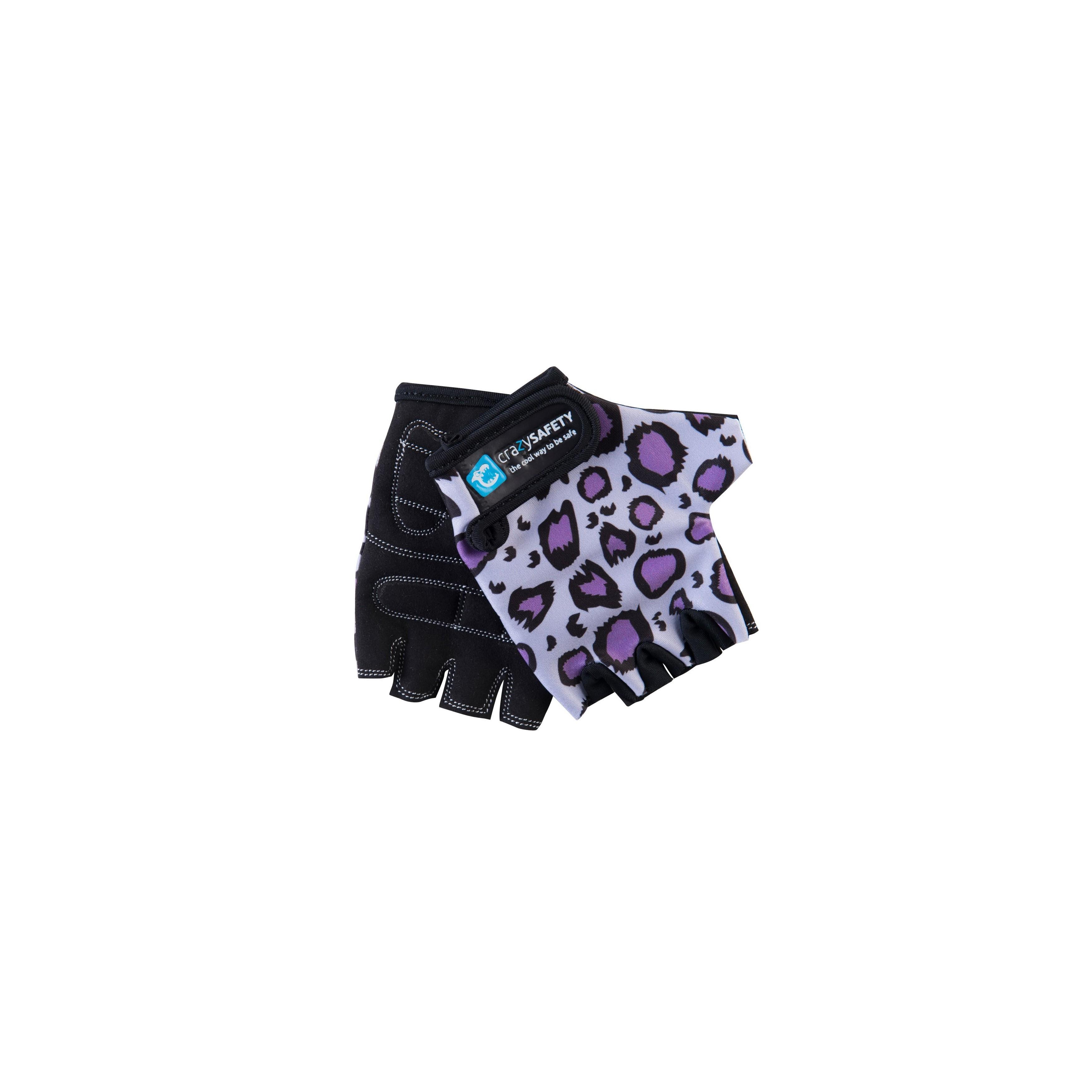/Zebra/ CrazySafety Gloves Kids Bike/ /Zebra