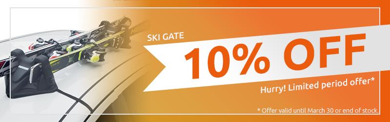 Ski gate