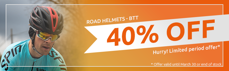 Road Helmets and BTT